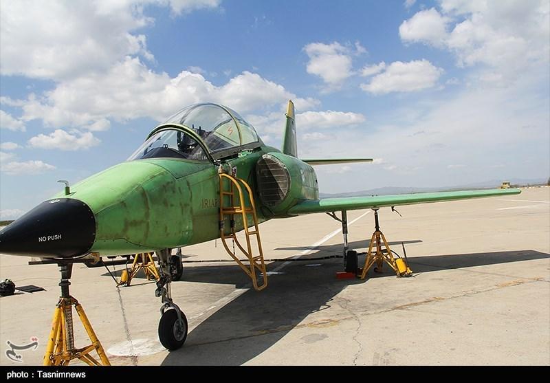 اولین هواپیمای جت آموزشی-رزمی ساخت ایران