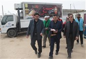 بازدید شهردار قم ازمواکبحرم حضرتمعصومه (س) و مسجد جمکران در مسیر پیاده روی اربعین