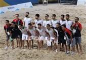بازیهای ساحلی جهان| تیم فوتبال ساحلی ایران سوم شد