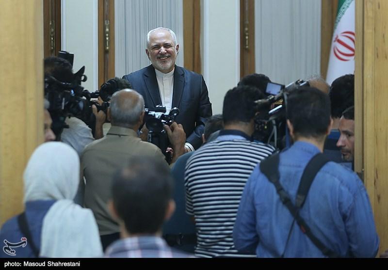 محمد جواد ظریف وزیر امور خارجه ایران
