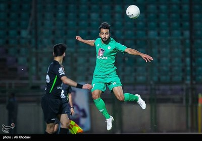 دیدار تیمهای فوتبال مس کرمان و ذوب آهن اصفهان - جام حذفی