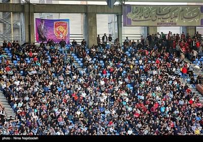 دیدار تیمهای فوتبال شهر خودرو و نفت مسجد سلیمان-جام حذفی