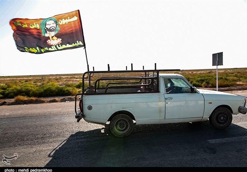 اخبار اربعین 98| ساماندهی اتوبوسها برای انتقال زائران به استانهای مقصد در چذابه انجام شده است