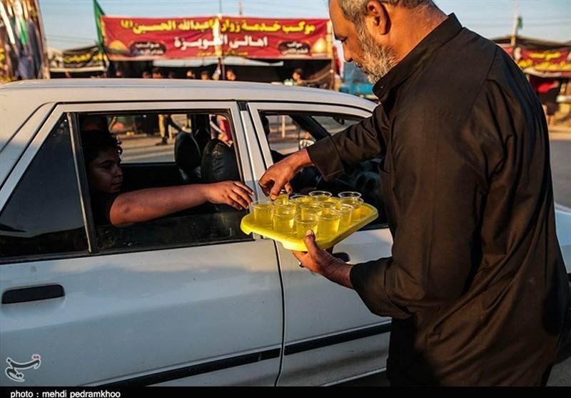 اخبار اربعین 98| شور حسینی در پایانه مرزی چذابه + تصویر
