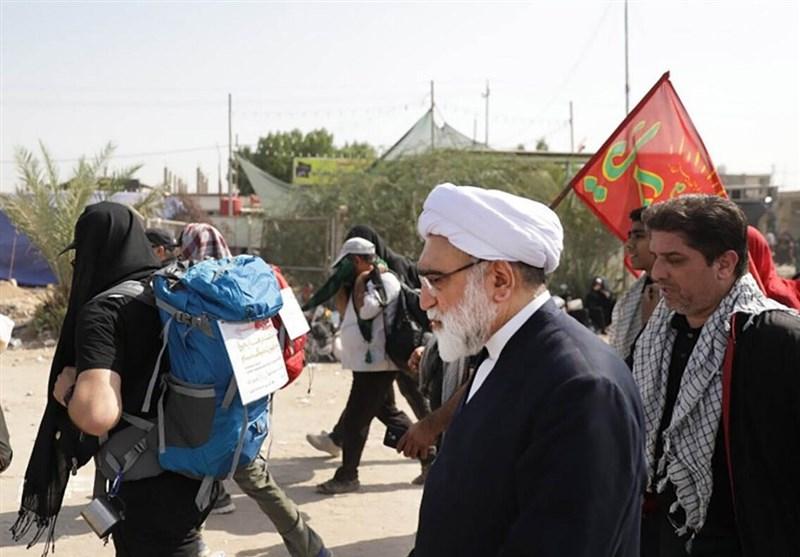 اخبار اربعین 98| استقرار بزرگترین موکب آستان قدس رضوی در مهران / ارائه خدمات پزشکی به زائران 