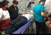 تصادف زنجیرهای در کرمانشاه باعث مصدومیت 10 زائر شد