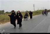 اخبار اربعین98  حرکت عزاداران دزفولی به سمت شوش به روایت تصویر