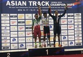 دوچرخهسواری پیست قهرمانی آسیا| مهدی محمدی نایب قهرمان بخش معلولان شد