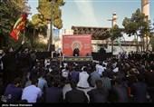 عزاداری هزاران نفر از دانشجویان در محضر رهبر معظم انقلاب