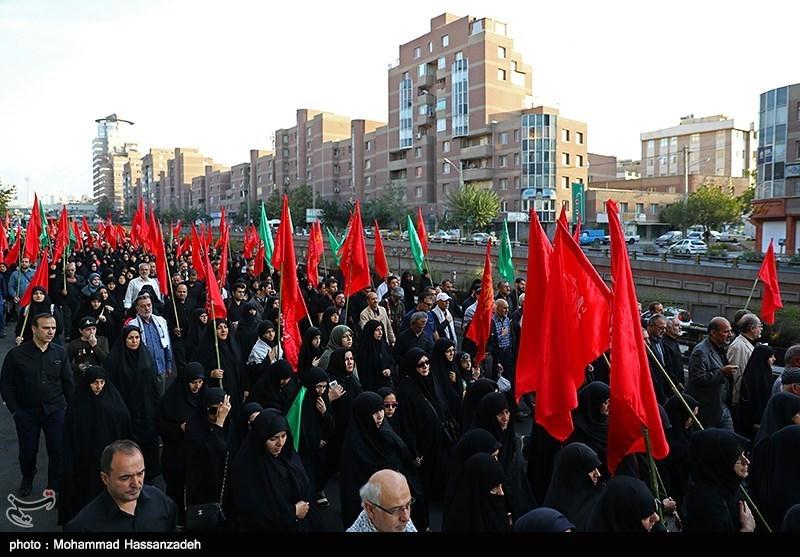 برگزاری پیاده روی جاماندگان اربعین حسینی(ع) در تهران