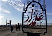خراسان رضوی| مراسم جاماندگان اربعین با حضور بیش از هزاران نفر در شهر گناباد برگزار شد + فیلم