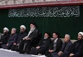 مراسم عزادارای اربعین حسینی در حسینیه امام خمینی(ره) برگزار شد