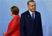 گفتگوی تلفنی مرکل و اردوغان درباره شرایط سوریه