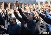 عزاداری مازنیها در اربعین سالار شهیدان؛ دستهروی خانواده شهدا و ایثارگران + تصاویر