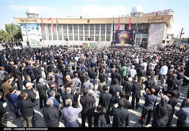 اخبار اربعین 98| همدان یکدست سیاهپوش شد؛ اجتماع عاشورائیان در اربعین حسینی