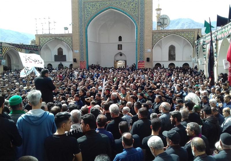 «جاماندگان قافله اربعین» رهسپار آستان علی بن امام محمد باقر مشهد اردهال کاشان شدند + فیلم