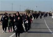 اخبار اربعین 98| عزاداری زائران هندی برای امام حسین (ع) در مرز شلمچه + فیلم