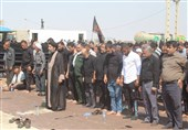 مراسم پیاده روی اربعین حسینی به سمت امامزاده میر نعمان (ع) هندیجان برگزار شد