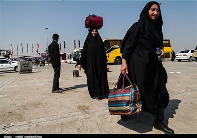 تازهترین اخبار اربعین 98| بازگشت زائران به ایران / تداوم خدماترسانی موکبها به زائران + تصاویر