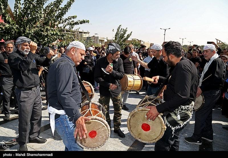 سوگ و ماتم مردم جزایر هرمزگان در اربعین حسینی