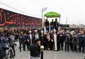 آئینهای اربعین حسینی در شهرستانهای 17گانه آذربایجان غربی برگزار شد