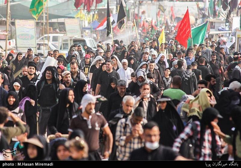 استان لرستان 28 موکب در 4 شهر عراق برپا کرد