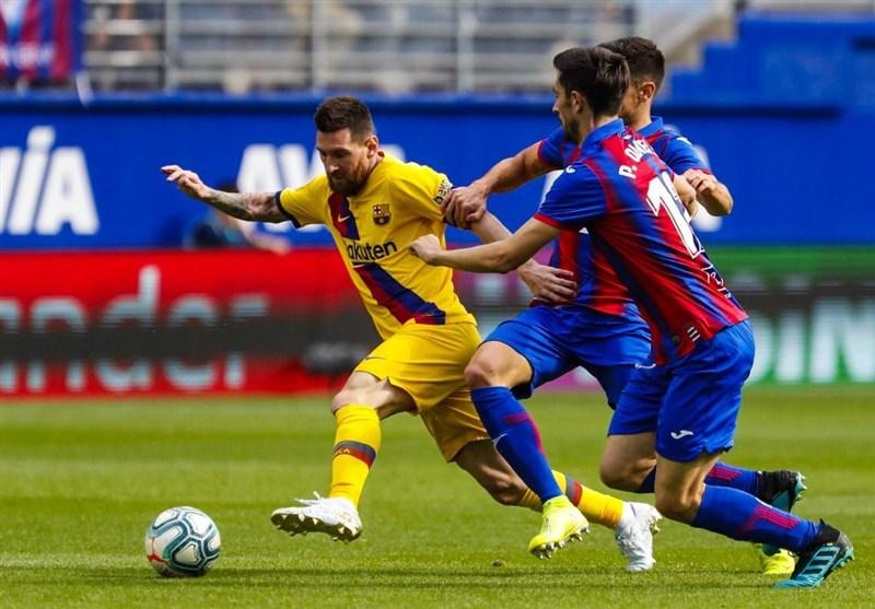 تیم فوتبال بارسلونا , لالیگا اسپانیا , ارنستو والورده تخدور ,