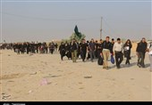 اخبار اربعین 98 |موج بازگشت زائران کربلای معلی از مرز مهران + تصاویر