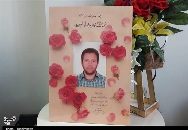 اصفهان|روایت تسنیم از یک مهمانی متفاوت؛ آرزوی همسر شهید مدافع امنیت چه بود؟