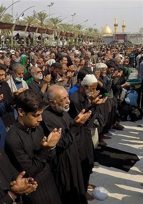 کربلای معلی در روز اربعین حسینی