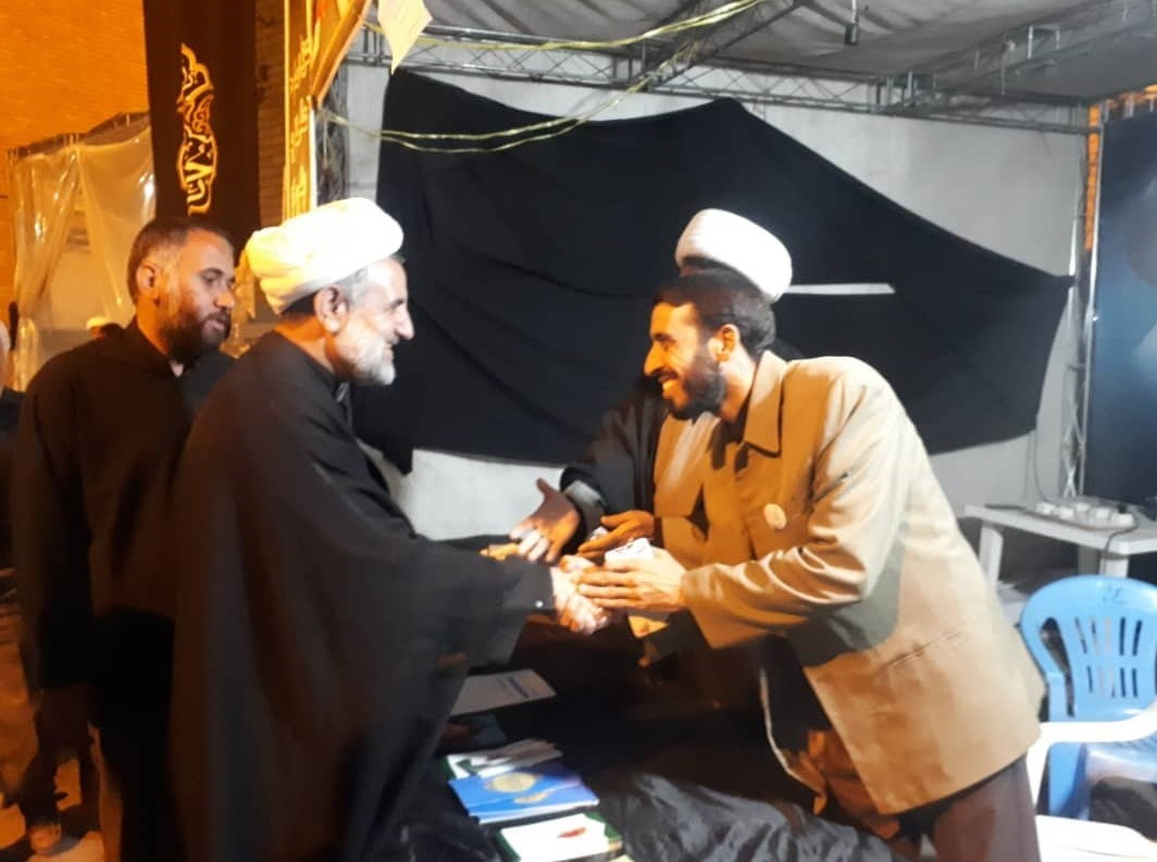 رئیس کمیسیون امنیت ملی مجلس از قرارگاه مردمی اربعین قم بازدید کرد