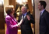 هیاتی از کنگره آمریکا با پادشاه اردن درباره سوریه دیدار کرد