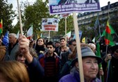 Thousands in Germany, France Protest Turkey's Syria Incursion