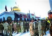 اربعین فاطمیون در حرم حضرت زینب(س)+عکس