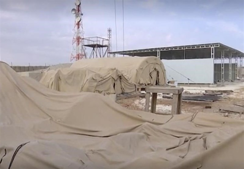 پایگاه نظامی رها شده آمریکاییها در شهر منبج سوریه + فیلم
