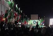 تجمع بینالمللی استکبارستیزی در مسیر راهپیمایی اربعین