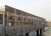 ساختوسازهای صحن جوادالائمه حرم حضرت معصومه (س) برای رفاه زائران در حال ساخت است