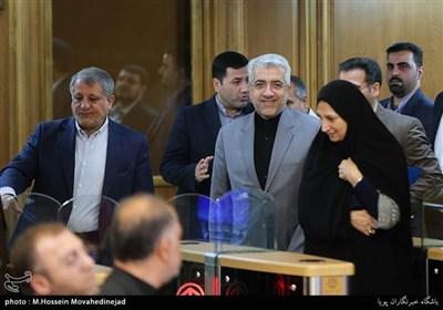جلسه شورای شهر تهران با حضور وزیر نیرو