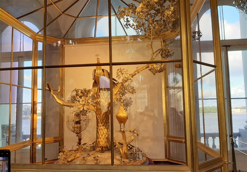 یکی از آثار موزه آرمیتاژ در سن پترزبورگ