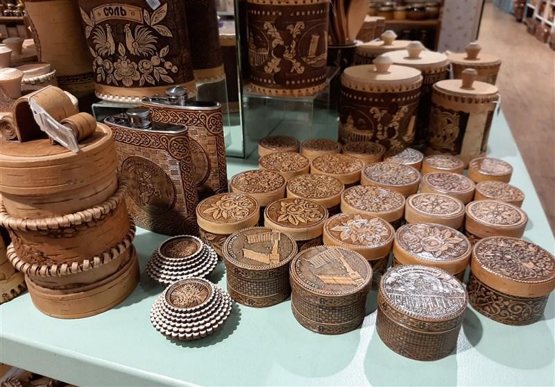 سوغات چوبی صنایع دستی روسیه