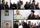 دیدار نماینده ولی فقیه در خراسان جنوبی با خانواده شهید نیروی انتظامی در بیرجند