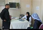 ارائه خدمات پزشکی به زائران اربعین در مرز چذابه +تصویر