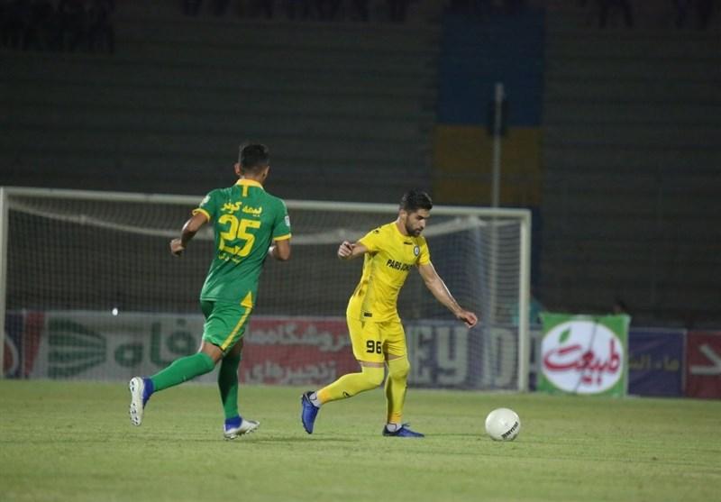 لیگ برتر فوتبال| پیروزی یک نیمهای پارس جنوبی مقابل ماشینسازی