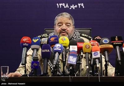نشست خبری سردار غلامرضا جلالی رییس سازمان پدافند غیر عامل