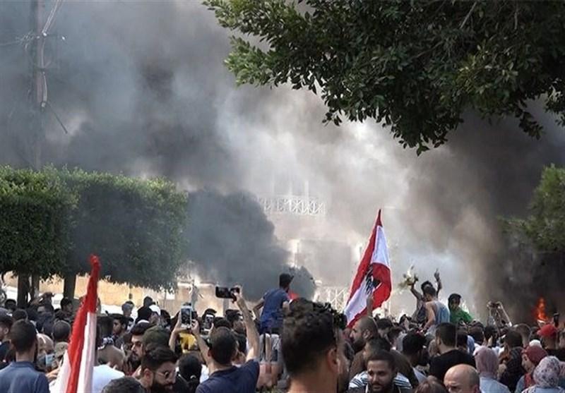 لبنان|نقش رسانههای وابسته در تظاهرات صور