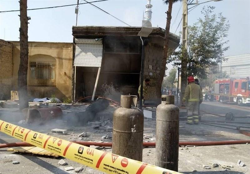 تهران| انفجار خونین و مرگبار در کارگاه تولیدی + تصاویر