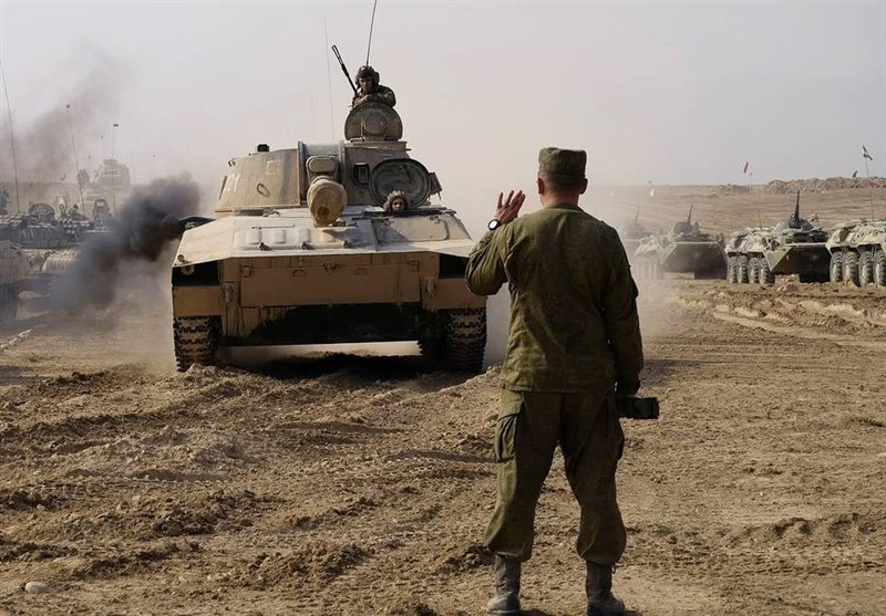 رزمایش نظامی 6 کشور در مرزهای افغانستان