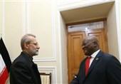 لاریجانی: روابط ایران و آفریقای جنوبی نیازمند جهش در حوزه همکاریهای اقتصادی است