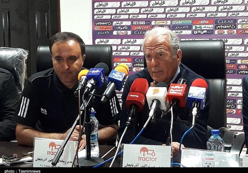 مازندران| دنیزلی: در بازی سخت مقابل نساجی 2 رقیب داشتیم/ فقط در نیمه دوم تراکتور واقعی بودیم