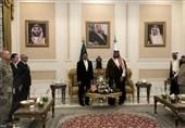 دیدار وزیر دفاع آمریکا با معاون وزیر دفاع سعودی